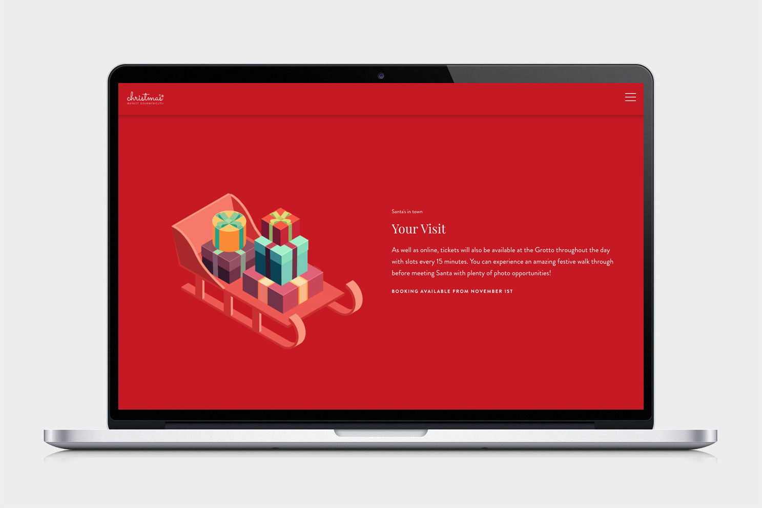Christmas Website Project 3