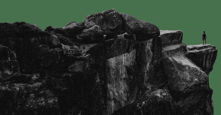 Me on a big Rock