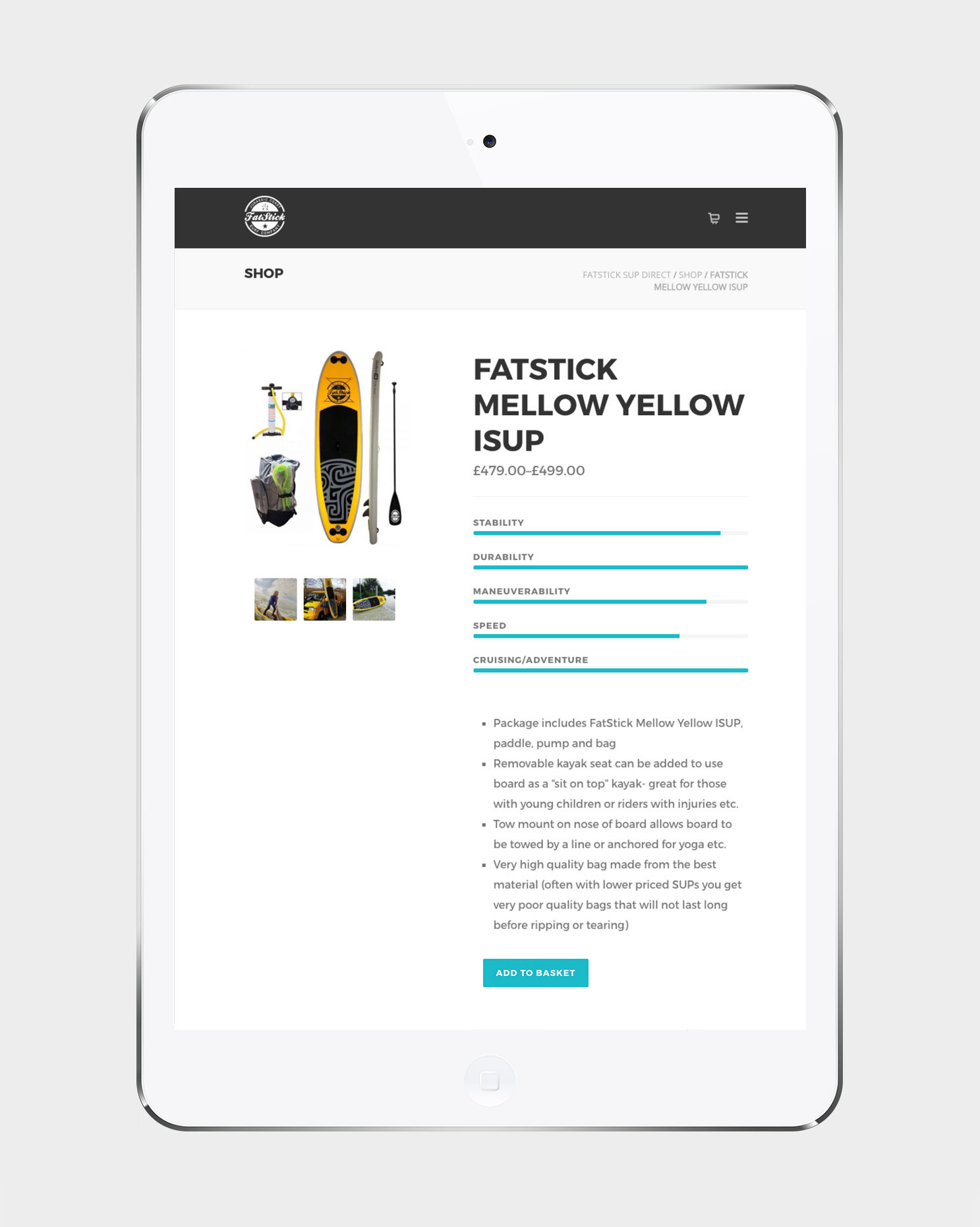 Fatstick Website