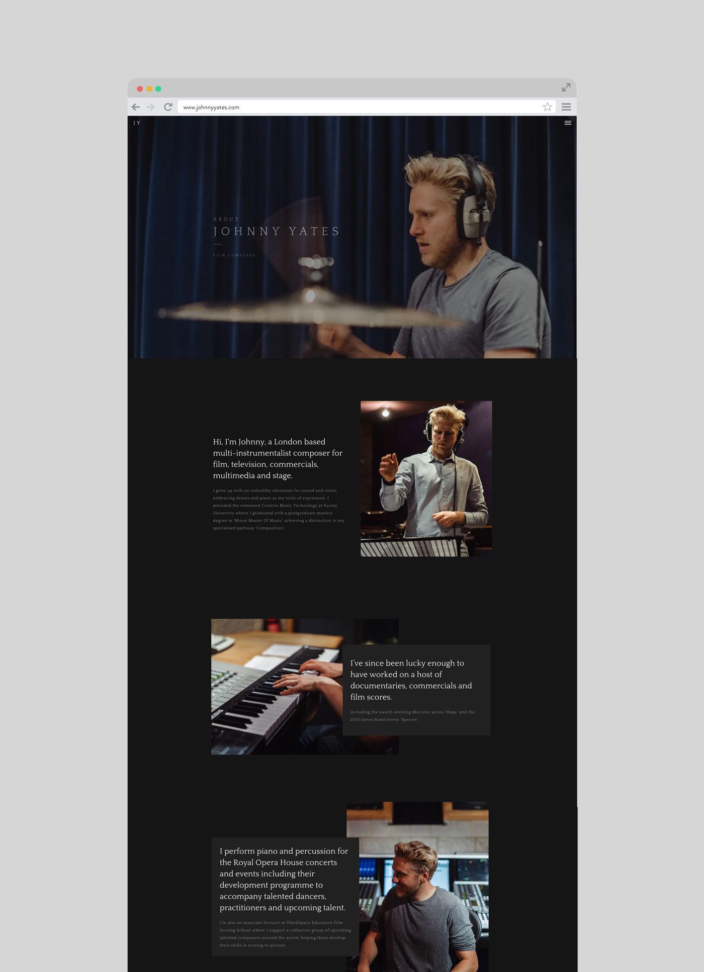 Johnny Yates Website