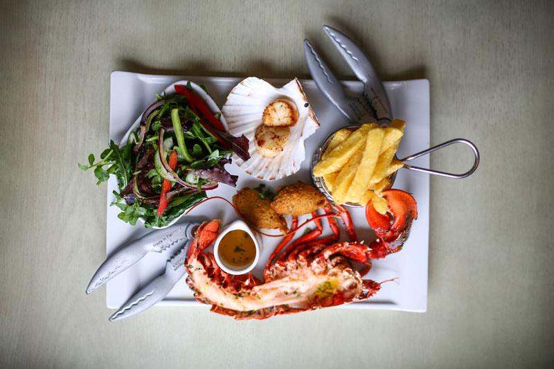 Noisy Lobster Food