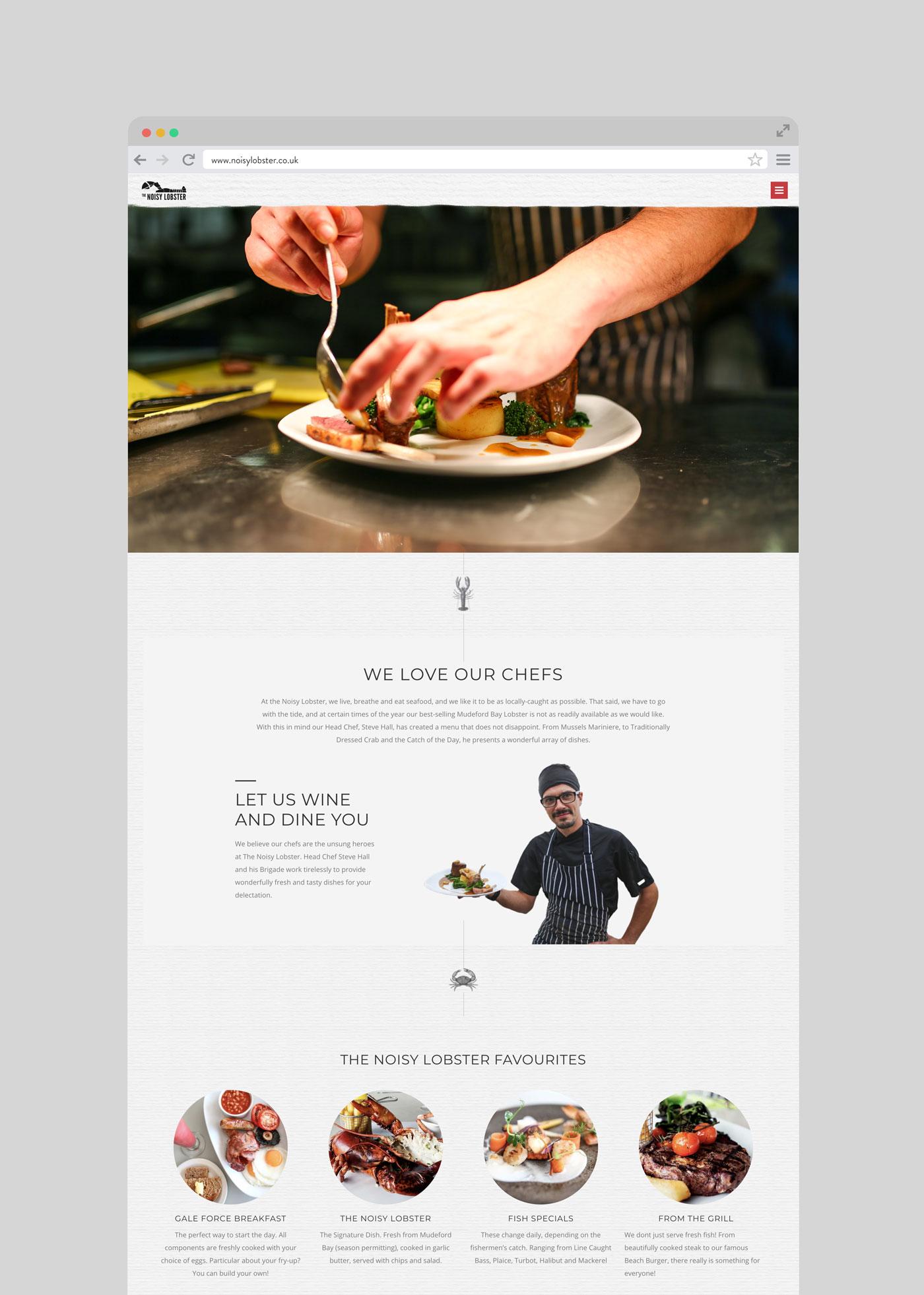 Noisy Lobster website